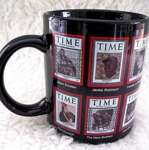 Vintage Time Magazine Covers Coffee Mug Cup Famous Sports Stars Historic... - $14.84
