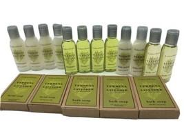 Crabtree Evelyn Lot Travel Verbena Lavender Wash Shampoo Conditioner Soa... - $29.69