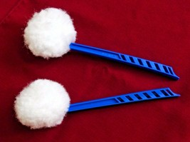 Impact Toilet Bowl Mop 201 Deluxe Blue 12 Inch Industrial Grade X2 - $12.82