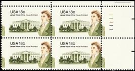 1935, Misperforated ERROR Plate Block of 18¢ Stamps Mint NH - Stuart Katz - $25.00