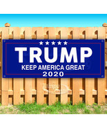 TRUMP KEEP AMERICA GREAT 2020 Advertising Vinyl Banner Flag Sign Many Sizes - $17.77+