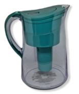 Brita Water Filtration Pitcher 10 Cups Teal Aqua Older Model OB43 Clear - $26.72