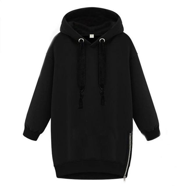 Oversized 2017 Spring Autumn Zanzea Womens Long Sleeve Hooded Loose Casual Warm