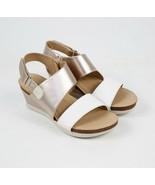 Womens Rockport Slingback Sandal - White/Rose Gold Leather, Size 7 M US ... - $104.99