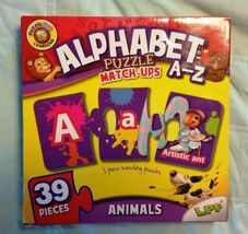 Alphabet Puzzle Match-up A-Z Animals - New / Sealed - $14.98