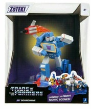 "2021 Jazwares Zoteki Transformers Soundwave Diorama 6"" Action Figure NEW SEALED"