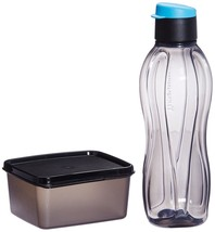 Tupperware Xtreme Set of Bottle and Box for Travellers (Multicolor) - $15.79