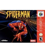Spider-Man N64 Great Condition Fast Shipping - $19.93
