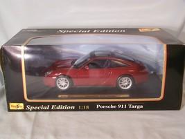 Porsche 911 Targa 1:18 scale diecast Special Edition Maisto - $45.08