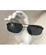 Kirkland Signature Columbia Black Matte Sunglasses 688062 59/17 145 Italy - $74.80