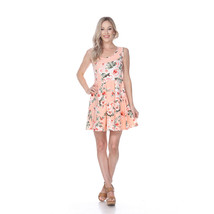 White Mark's Flower Crystal Dress - Peach - $24.99