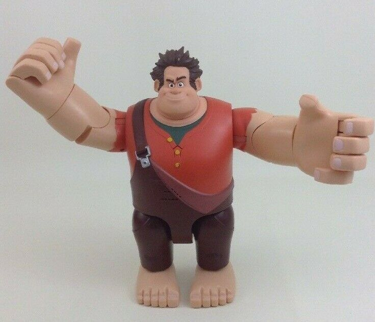 "Primary image for Wreck It Ralph Talking Toy 12"" Wrecking Figure Thinkway Toys Disney w Batteries"