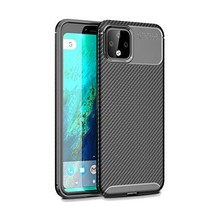 Google Pixel 4 XL Case, Cruzerlite Carbon Fiber Texture Design Cover Anti-Scratc