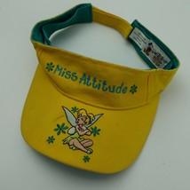 Miss Attitude Tinkerbell Disney Kids Visor Cap Hat Adjustable Adult - $13.85
