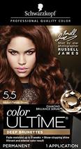 Schwarzkopf Color Ultime Permanent Hair Color Cream, 5.5 Medium Parisian Brown - $11.82