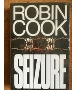 Robin Cook Book, SEIZURE, Medical Mystery, Best Selling Author, Drama - $5.00