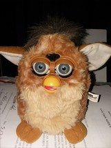 Furby Toy - Brown Spotted,1998 Tiger Electronics LTD. - $32.73