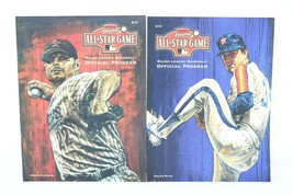2004 Houston All Star Game MLB Official Program Lot of 2 Mag Covers Clem... - $24.26