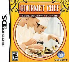 Gourmet Chef (Nintendo DS, 2008) - $1.97