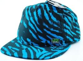 VANS Off the Wall 5 Panel Aquamarine Snapback Cap Hat  OSFM - $19.94