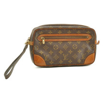 LOUIS VUITTON Monogram Marly Dragonne GM Clutch Bag M51825 Auth 9214 **S... - $198.00