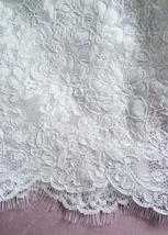 White Sleeveless Lace Crop Top Wedding Bridesmaid Lace Tops Custom Wedding Tops  image 7