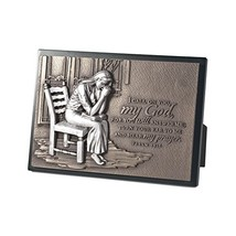 Lighthouse Christian Products Moments of Faith Praying Woman Rectangle S... - $27.07