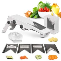 Multi Blade Adjustable Mandoline Slicer and Vegetable Julienner with Pre... - $55.85