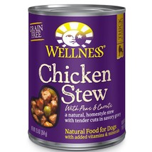 Wellness Thick & Chunky Natural Wet Grain Free Canned Dog Food Chicken New - $56.82