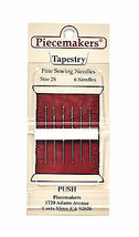 Piecemaker Tapestry Fine Sewing Needles Size 28 - $7.16