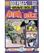 The Brave and the Bold Comic Book #117 DC Batman and Sgt. Rock 1975 FINE+ - $22.17
