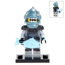 The Shark Army Angler Goon Ninjago Minifigures Block Toy Gift for Kids - $2.75