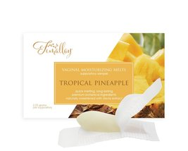 Sample of Tropical Pineapple Vaginal Moisturizing Suppositories - $2.25