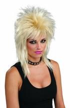 Forum Novelties Unisex Adult Punk Rock Star Blonde Wig Halloween Costume... - £11.59 GBP