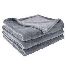 "Soft Brush Blanket Living Room Fleece Fabric Lightweight 50""X 60"" Color ... - $31.35"