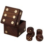Buddha4all Beautiful Decorative Square Shape Box Game Ludo Dice Board Game - £15.41 GBP