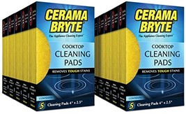 Cerama Bryte Glass-Ceramic Cooktop Cleaning Pads, 50 Count - $32.07