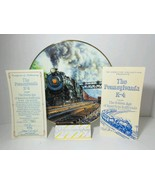 The Pennsylvania K-4 Golden Age American Railroads Collectible Plate Ted... - $34.29
