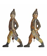 Vintage Hessian Soldier Figural Andirons - A Pair - $1,295.00