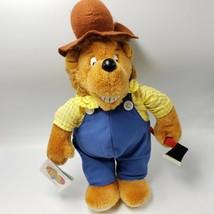 "Berenstain Bears Papa Plush Stuffed Animal 1984 Mattel Emotions 14"" Tag - $14.00"