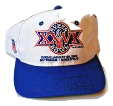 VINTAGE TEAM NFL SUPER BOWL XXVI 1992 MINNEAPOLIS MN METRODOME HAT- SIGN... - $17.99