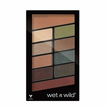 wet n wild Color Icon Eyeshadow 10 Pan Palette Not a Basic Peach - $7.87+