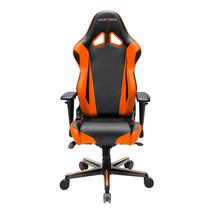 DXRacer OH/RV001/NO High-Back Racing Style Office Chair Vinyl+PU(Black/O... - $359.00
