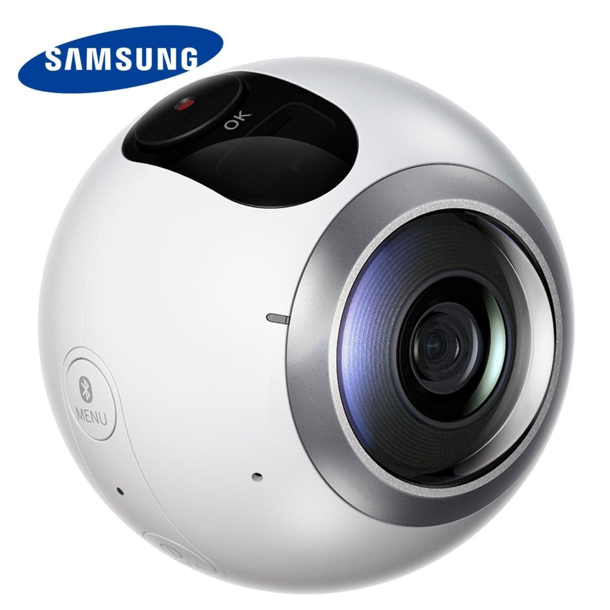 Samsung Gear 360 SM-C200 VR Camera Dual Lens for Galaxy Series + MicroSD 64GB