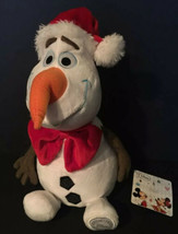 "Disney Store Frozen Movie 10"" Plush OLAF Snowman Stuffed Animal NEW Bow ... - $9.99"