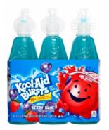 Kool Aid Bursts Berry Blue Fruit Juice Drink Kids Low Sugar 6.75 fl oz -... - $11.60