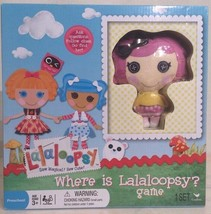 Where is Lalaloopsy Game Set with Doll Figure New for Ages 3+ - $19.99