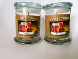 Yankee Candle On Tap Jar Candle 8 Oz Lot Of 2 - $62.88