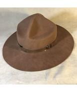 Vintage Stetfelt West Style Tan Hat Size 7 - $58.40