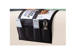 Magazine Remote Control Newspaper Pocket Organizer Sofa Arm Caddy Holder... - $24.44